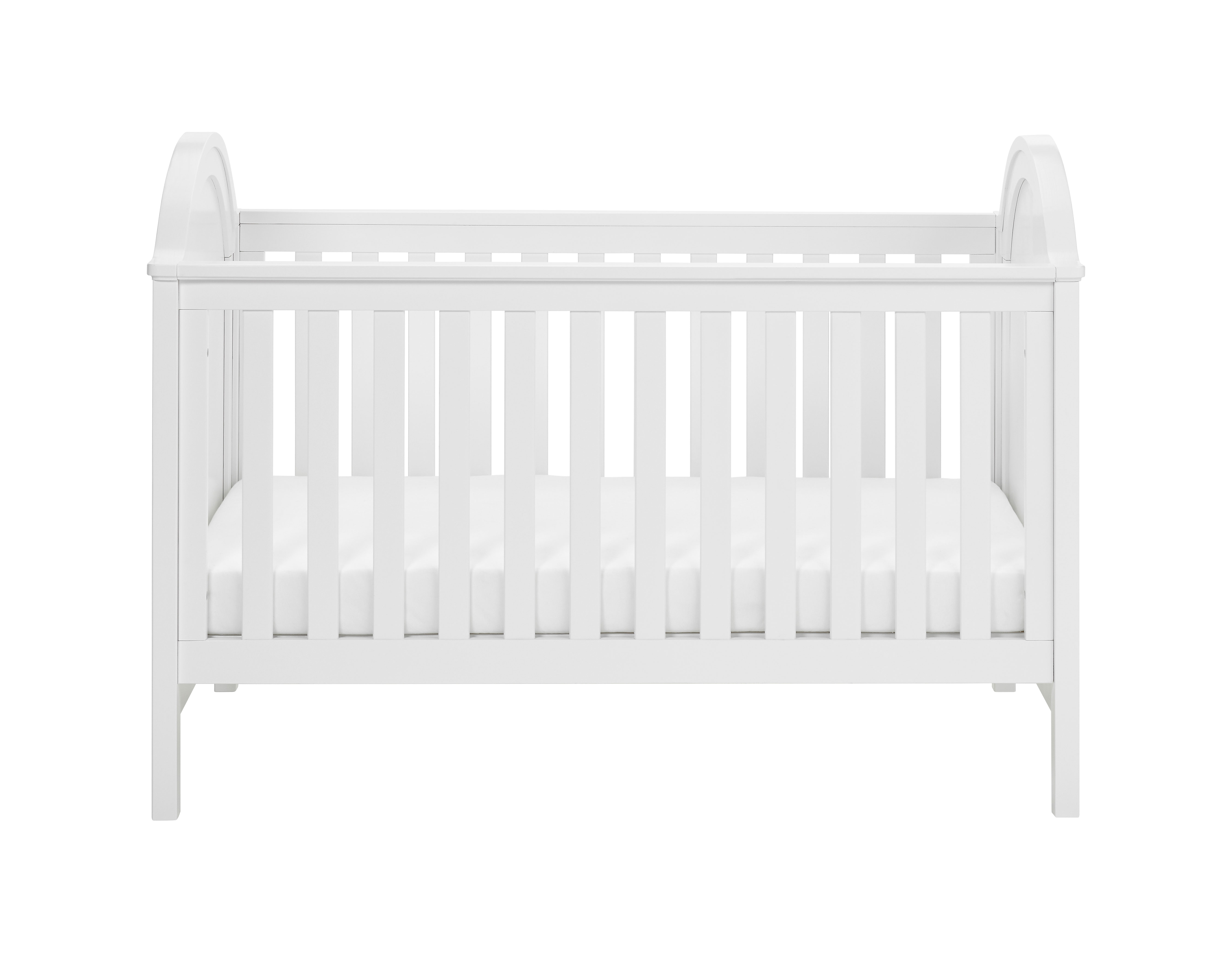 Albert Cot Bed White Cot Bed Furniture Babymore